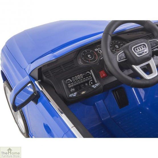 Audi Blue Ride on Car_7