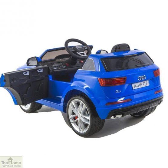 Audi Blue Ride on Car_4