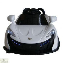 Roadster White Ride on Car_1