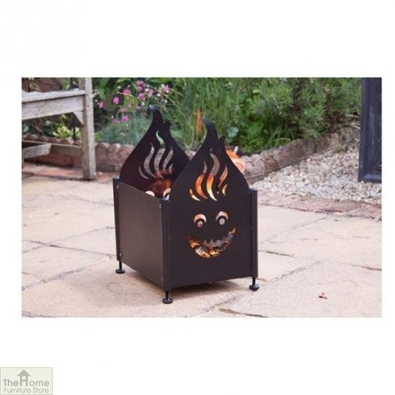 Portable Rectangular Steel Fire Pit_1