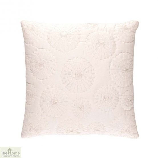 Dandelion Embroidered Cushion Cover