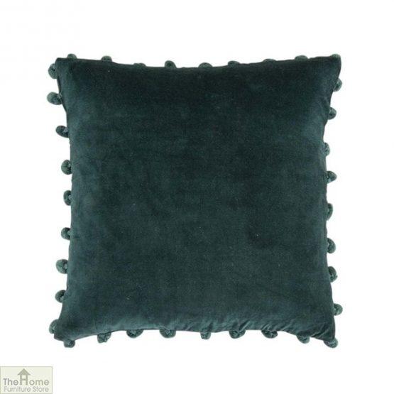 Dark Green Velvet Cushion Cover