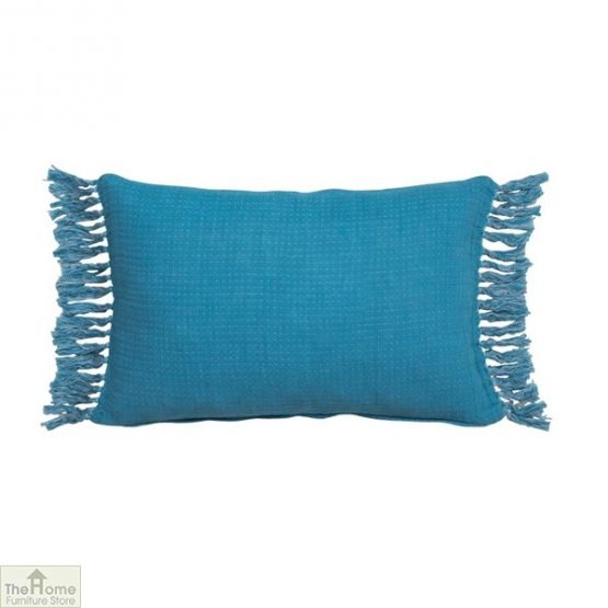 Blue Linen Cushion Cover