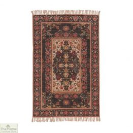 Tala Printed Patterned Cotton Rug
