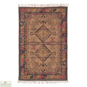 Geometric Printed Patterned Cotton Rug