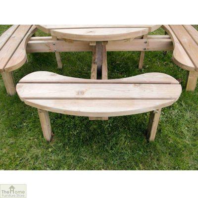 8 Seater Circular Picnic Table_6