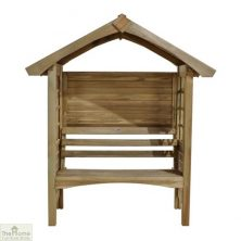 Small Wooden Arbour Seat