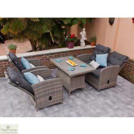 Casamoré Milan Reclining Sofa Set in Flint_1