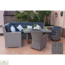 Casamoré Milan High Back Corner Dining Set