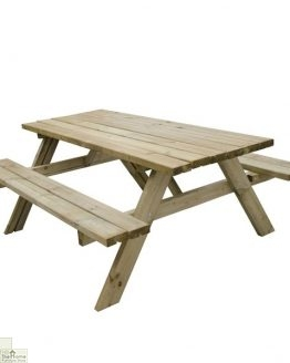 Large Rectangular Picnic Table