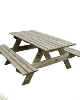 Small Rectangular Picnic Table