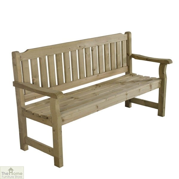 3 Seater Wooden Garden Bench