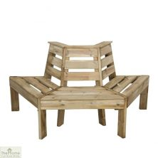 3 Seater Wooden Tree Seat