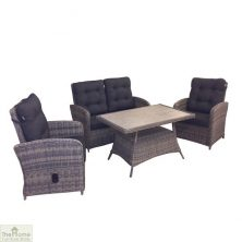 Casamoré Milan Reclining Sofa Set in Flint