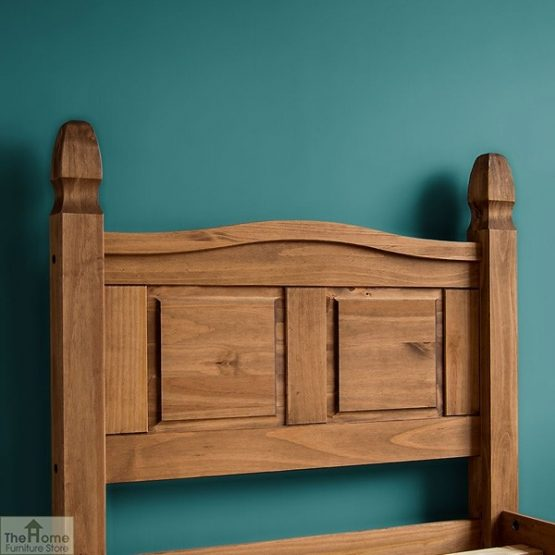 Solid Pine Single Bed Low Foot End_4