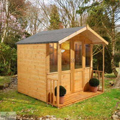 Large Veranda Wooden Summerhouse_1