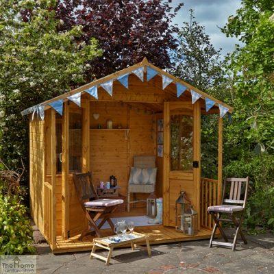 Large Veranda Wooden Summerhouse_2