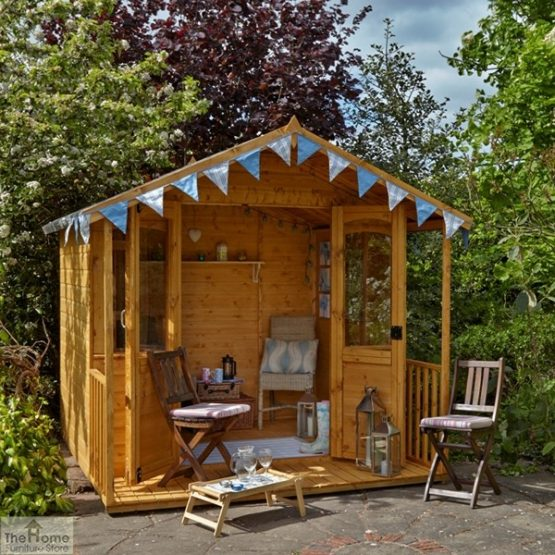 Large Veranda Wooden Summerhouse_2