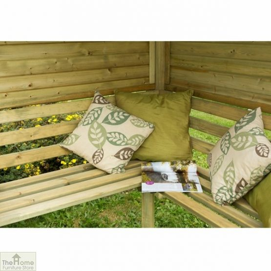 Large Wooden Corner Arbour Seat_3