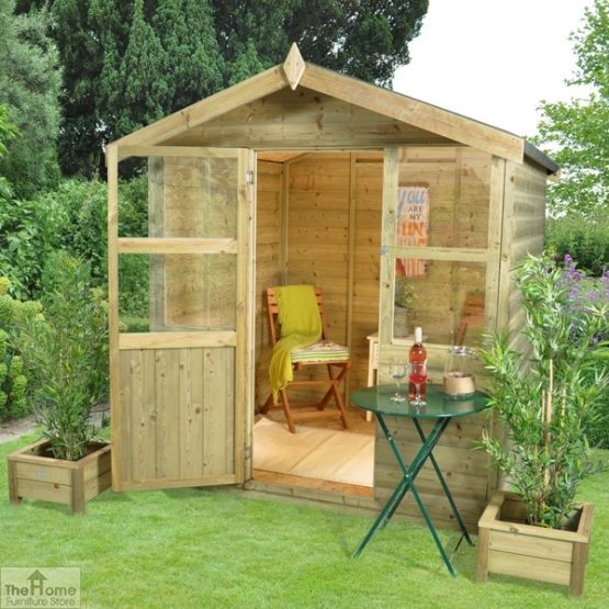Compact Wooden Summerhouse_1