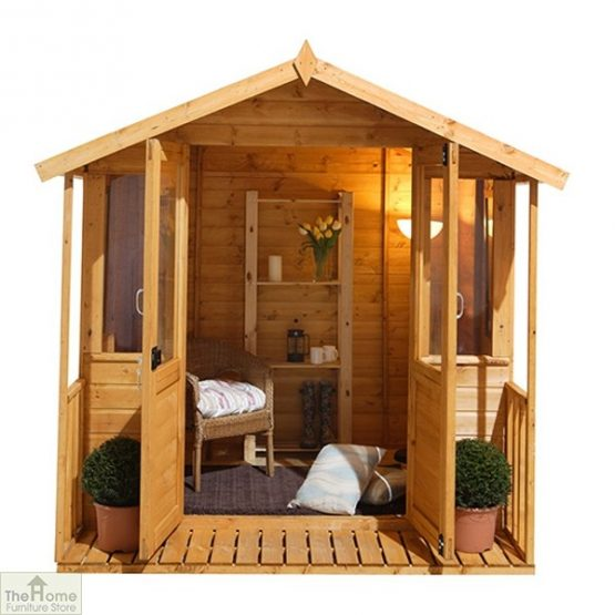 Large Veranda Wooden Summerhouse_7