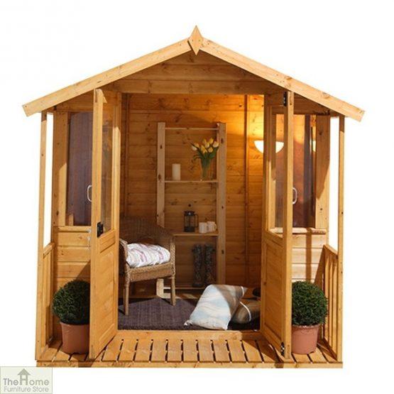 Large Veranda Wooden Summerhouse_7