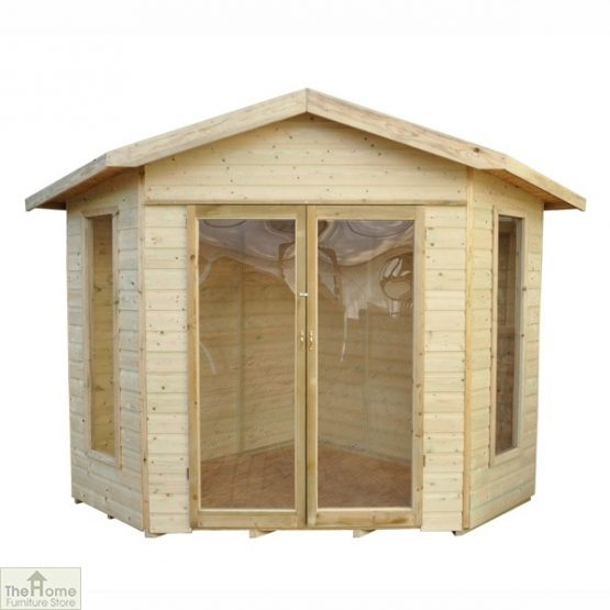 Corner Wooden Summerhouse