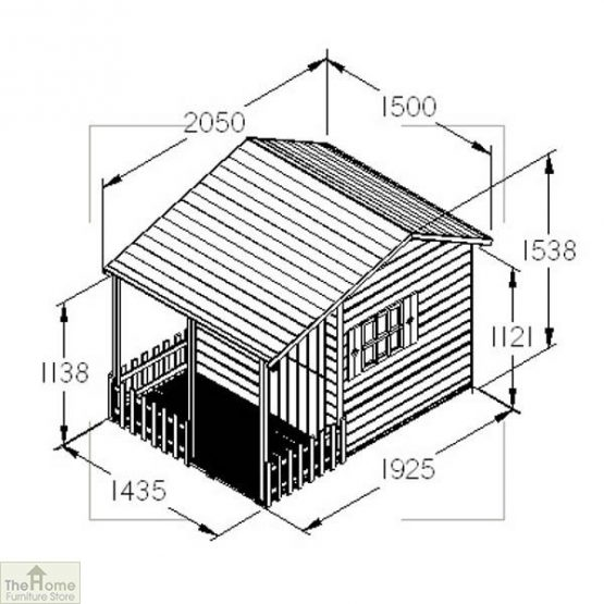 Children's Cottage Playhouse_3