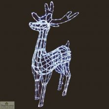 LED Reindeer Christmas Light Sculpture