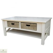 Casamoré Somerset 2 Drawer Coffee Table