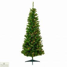 Pre-Lit Pine Christmas Tree