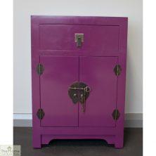Casamoré Jasmine Purple 1 Drawer Cupboard