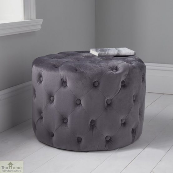 Tufted Pouffe Stool_4
