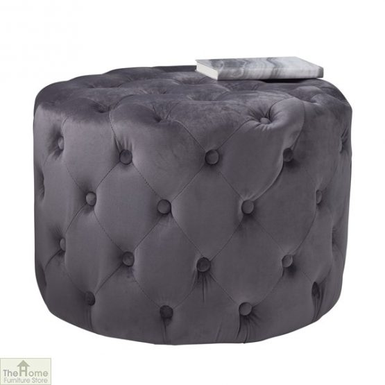 Tufted Pouffe Stool_3