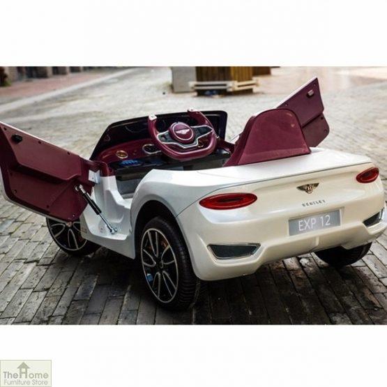 Licensed Bentley 12v Electric Ride on Car_21