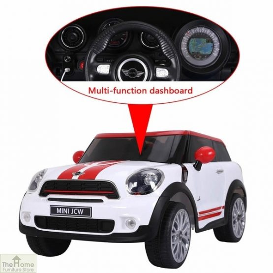Licensed Mini Cooper 12v Electric Ride on Car_5