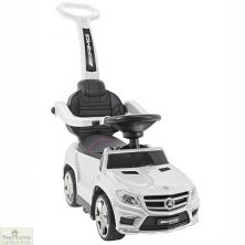 Licensed Mercedes Foot to Floor Ride on Car – White
