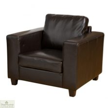 Venice Leather 1 Seat Armchair