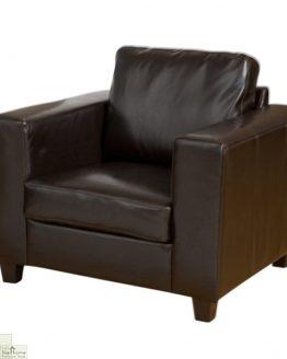 Venice Leather 1 Seat Armchair