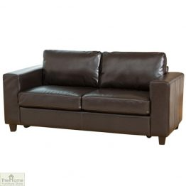 Venice Leather 3 Seat Sofa