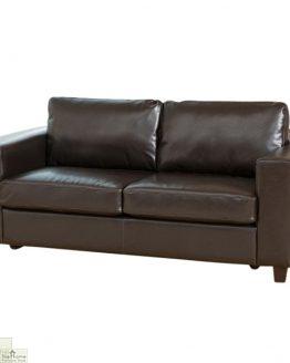 Venice Leather 3 Seat Sofa