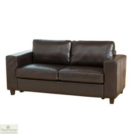 Venice Leather 3 Seat Sofa Bed