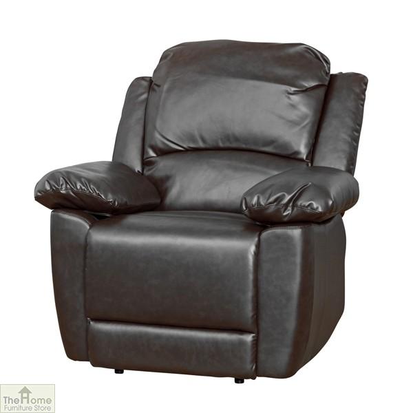 Ontario Leather Reclining Armchair