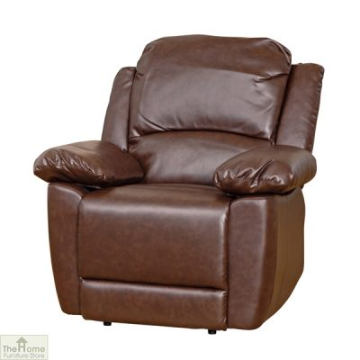 Ontario Leather Reclining Armchair_2