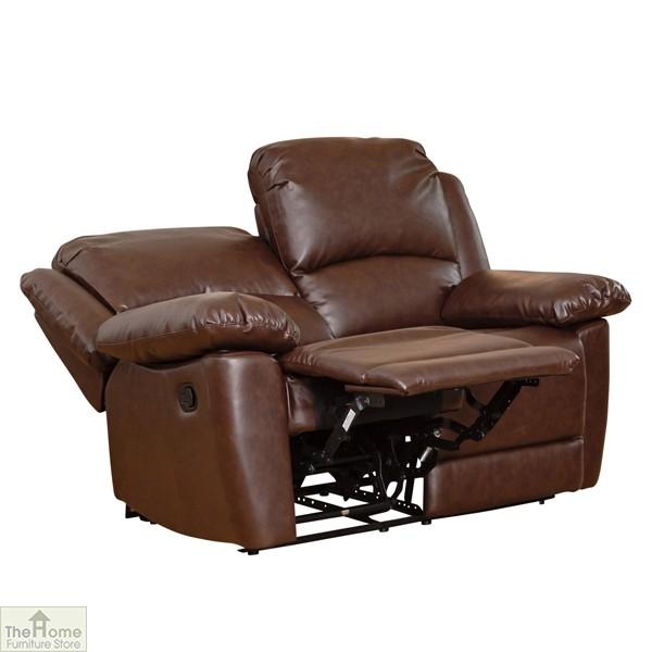 Ontario Furniture Outlet: Ontario Leather 2 Seat Reclining Sofa