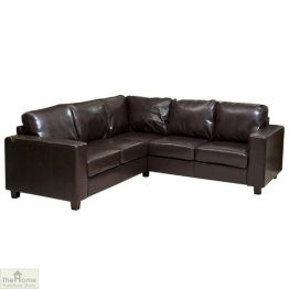 Venice Leather Corner Sofa