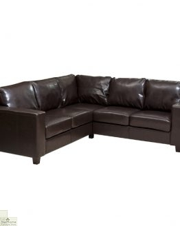 Venice Leather Corner Sofa