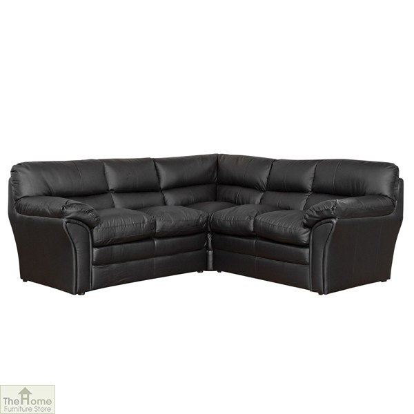 Toledo Leather Corner Sofa