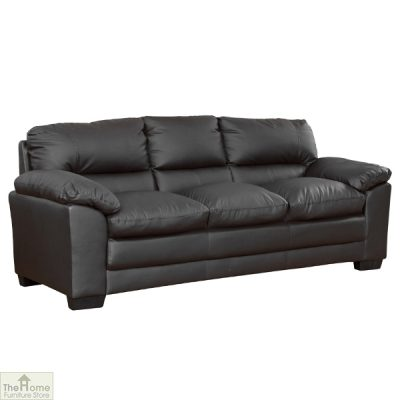 Toledo Leather 3 Seat Sofa Bed_4