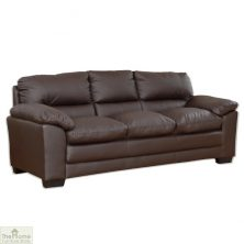 Toledo Leather 3 Seat Sofa